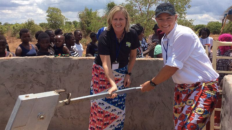 Katherine Kirk Partners with Golf Fore Africa