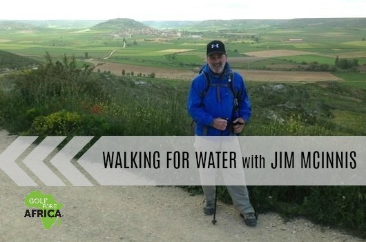 Walking for Water with Camino Jim-Day 34 … Today I will complete my third Camino de Santiago, tired a bit sore but it was great