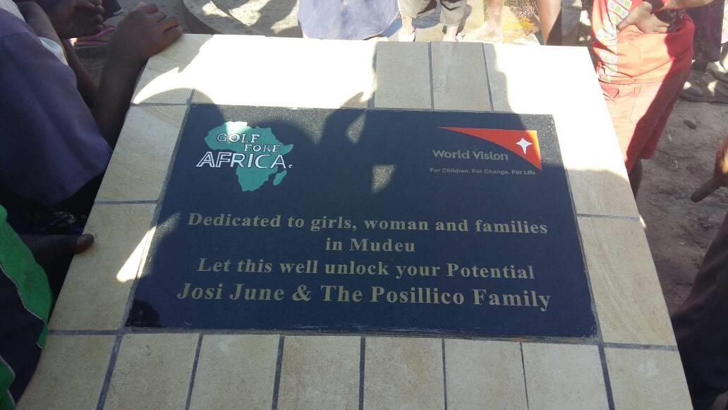 MUDEU, ZAMBIA – Well 1